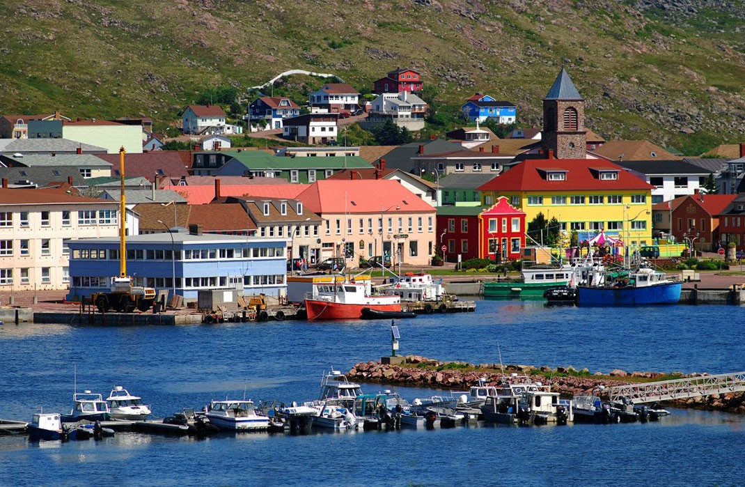 l'île Saint-Pierre et Miquelon